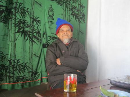 Cụ Nguyễn Bội, nguyên Chủ tịch UBND xã, kể nguồn gốc phong tục lạ