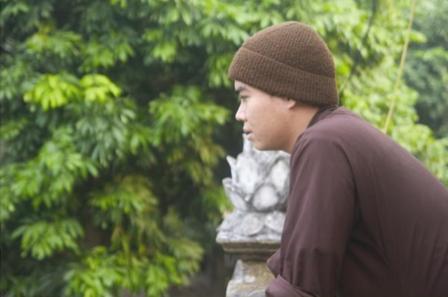 Phạm Văn Đức cho biết, mình theo nghiệp xuất gia như một cái duyên.
