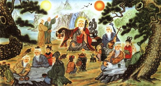 Bát tiên - tám vị thần bất tử theo truyền thuyết Trung Hoa.