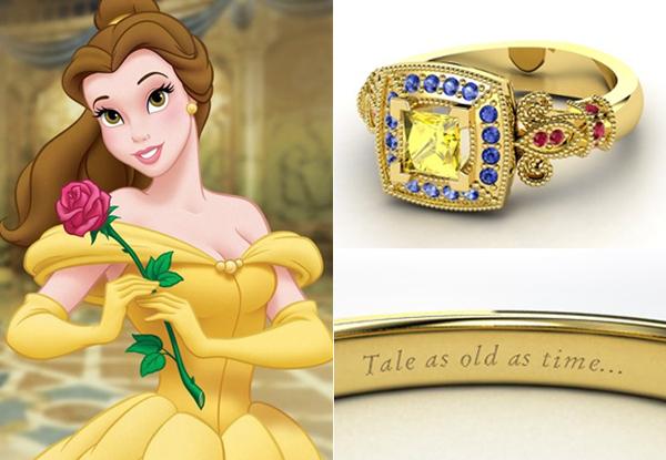 Nhẫn đính hôn lấy cảm hứng từ công chúa