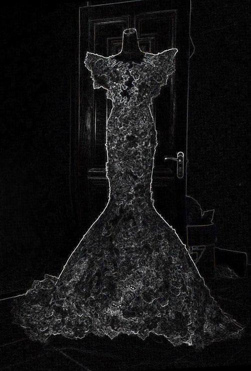 Hé lộ váy cưới 10.000 USD của Ngọc Quyên