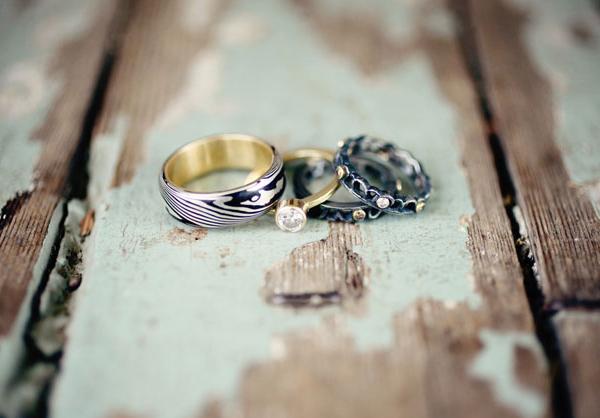 Những bộ nhẫn cưới cá tính gây ấn tượng