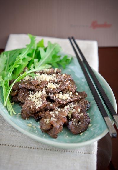 Người Hàn Quốc có cách ướp thịt bò nướng rất lạ, cách làm cũng đơn giản thôi, bạn hãy thử xem nhé.