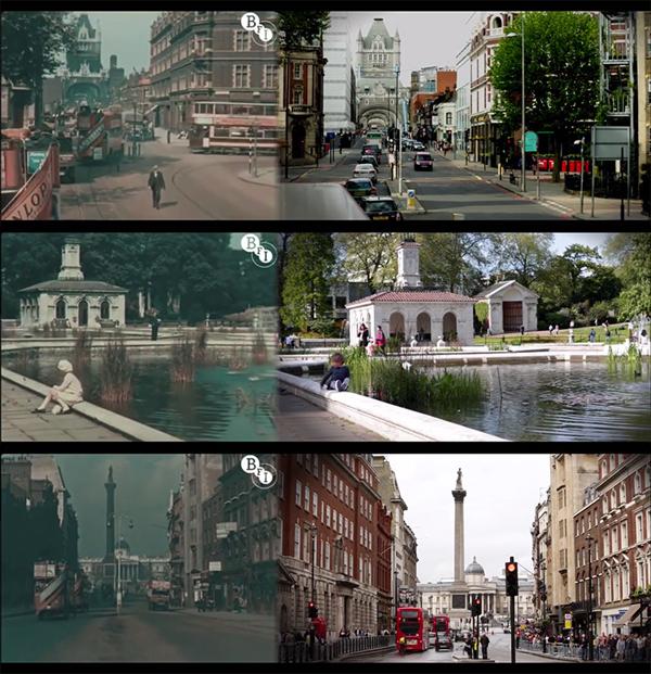 Sự khac biệt thu vị của London 1927 va 2013
