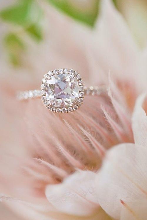 Chọn nhẫn đính hôn cho cô dâu dịu dàng