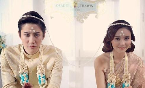 Đám cưới đẹp lung linh của 'Full House' Thái Lan