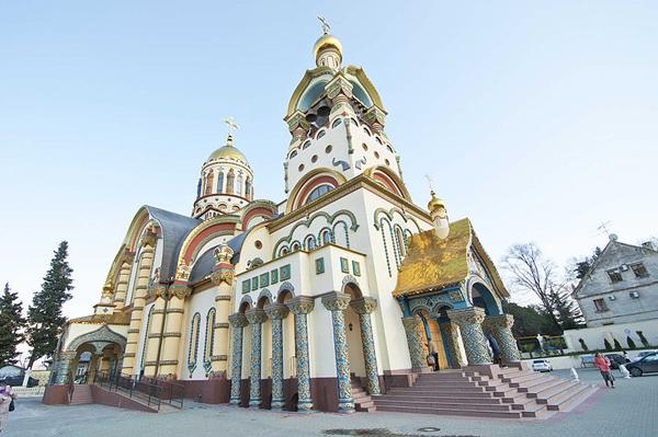 Nhà thờ Thánh Hoàng tử Vladimir Bình Đẳng (Sochi).