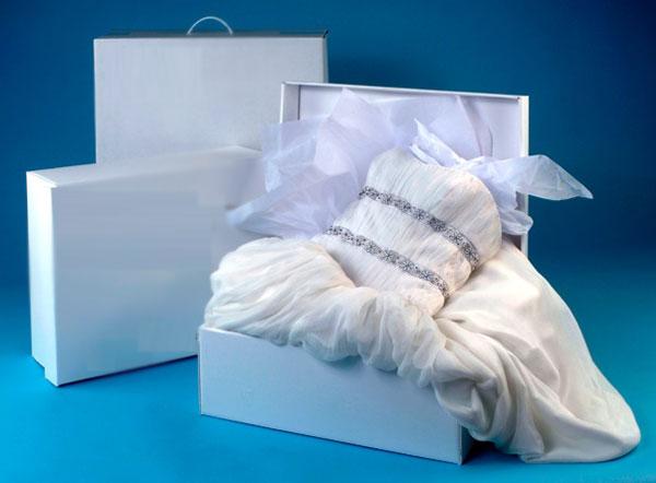 Cách bảo quản váy cưới không ố vàng