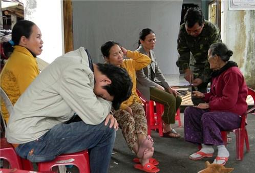 Huỳnh Anh Ngọc Vũ đau đớn trước cái chết oan uổng của cô em gái.