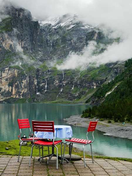 Nhà hàng Hotel-Restaurant Öschinensee, Thụy Sĩ.