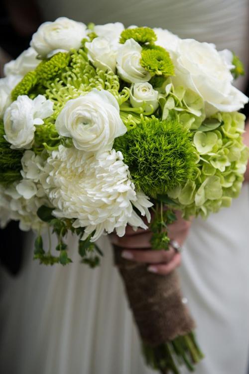 Xu hướng hoa cô dâu ngày xuân hè