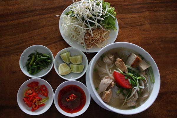 Bún cá dầm Nha Trang