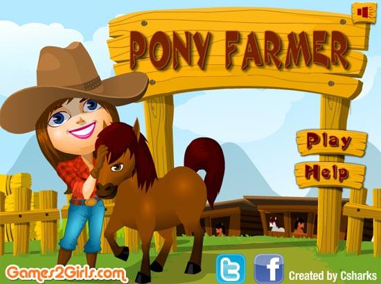 Cô nàng Tina rất yêu thích việc chăm sóc những con ngựa giống, hãy giúp Tina nhé.
