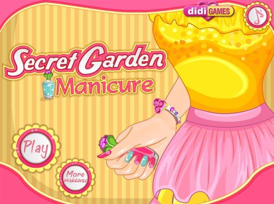 Hãy chọn những lọ sơn móng tay và họa tiết trang trí màu sắc theo phong cách khu vườn bí mật của mùa xuân cho cô gái trẻ.