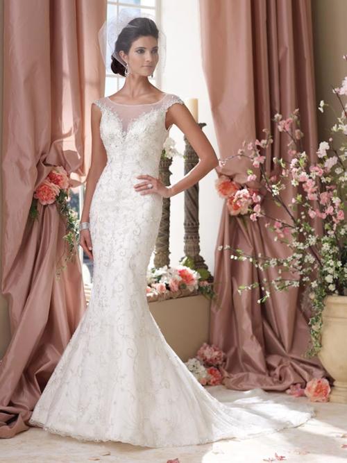 10 mẫu váy cưới đuôi cá tuyệt đẹp