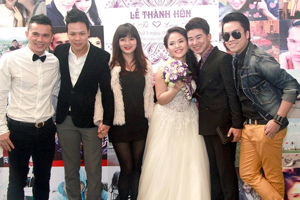 """Bằng Kiều """"cặp kè"""" Dương Mỹ Linh dự đám cưới """"tập 3"""" của Tú Dưa - Ảnh 9"""