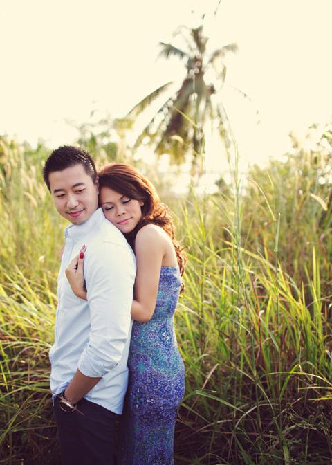 Ảnh cưới tuyệt đẹp ở biển xanh ngắt