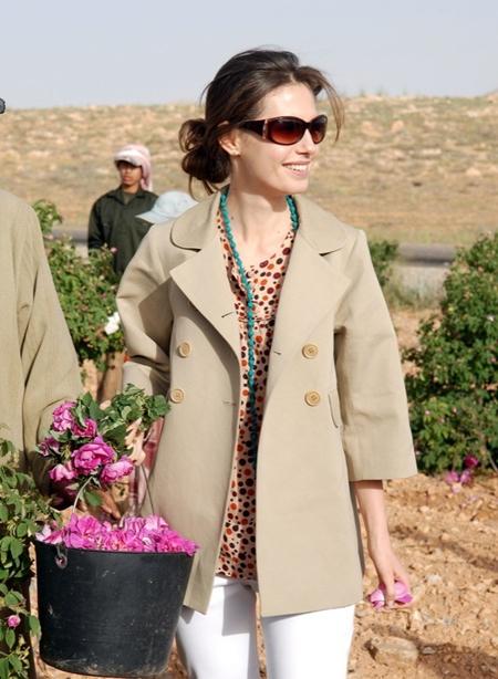 Gu mặc thanh lịch của Đệ nhất phu nhân Syria - hình ảnh 6