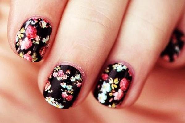 10 mẫu nail hoa xinh xắn cho nàng - hình ảnh 4