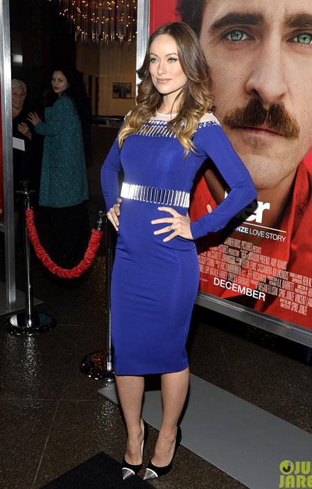 Thời trang bầu quyến rũ của Olivia Wilde - hình ảnh 3