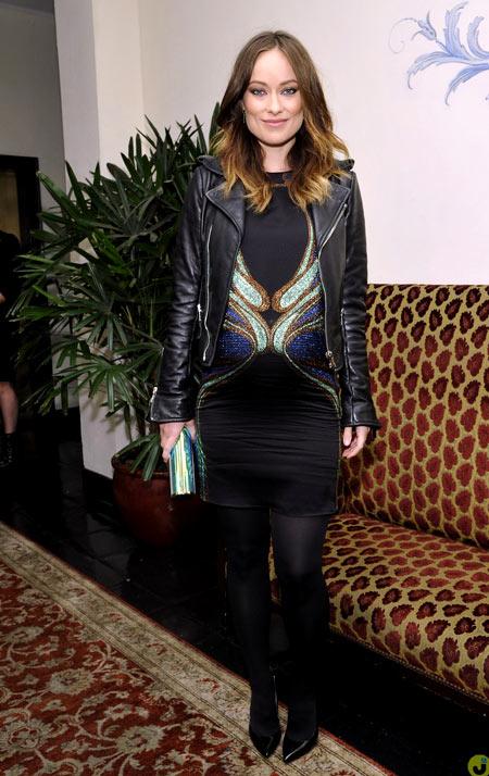 Thời trang bầu quyến rũ của Olivia Wilde - hình ảnh 4