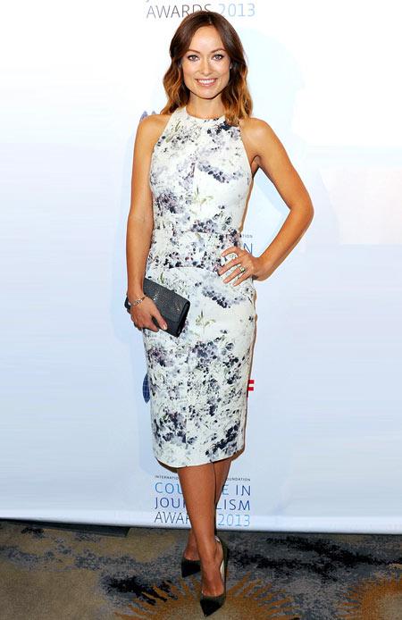 Thời trang bầu quyến rũ của Olivia Wilde - hình ảnh 6