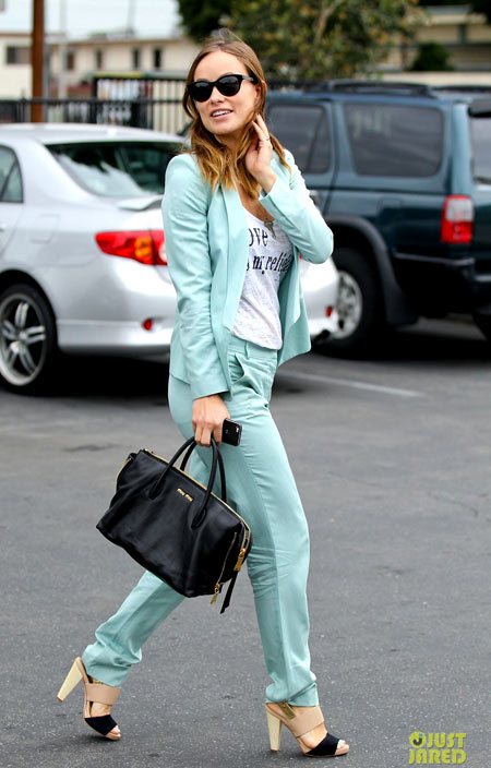 Thời trang bầu quyến rũ của Olivia Wilde - hình ảnh 9