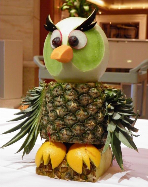 Muôn kiểu tạo hình dễ thương từ trái cây - hình ảnh 6