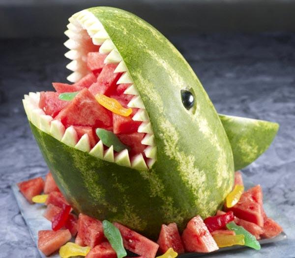 Muôn kiểu tạo hình dễ thương từ trái cây - hình ảnh 2