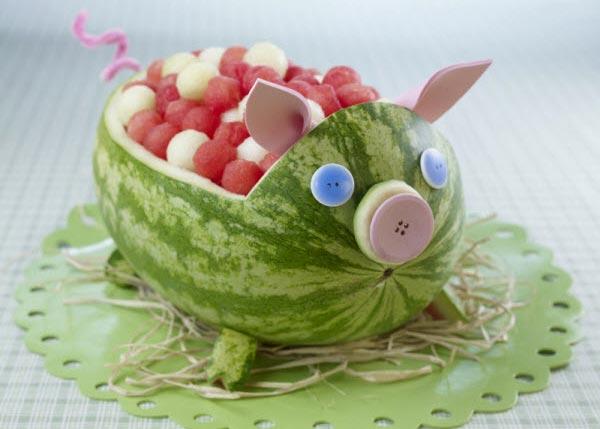 Muôn kiểu tạo hình dễ thương từ trái cây - hình ảnh 3