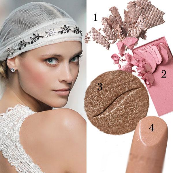 4 màu trang điểm cô dâu thời trang