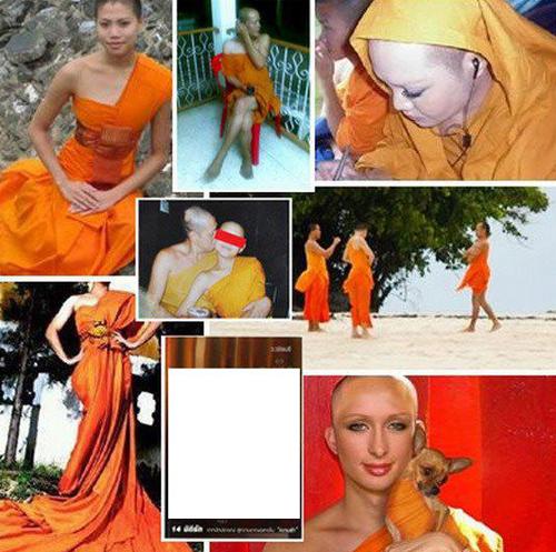 Trong những hình ảnh được tung lên, các nữ ăn mặc hở hang