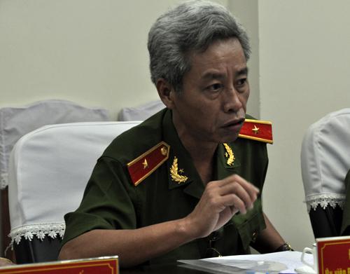 Tướng Minh khẳng định công an quận Bình Tân đã làm đúng quy trình.