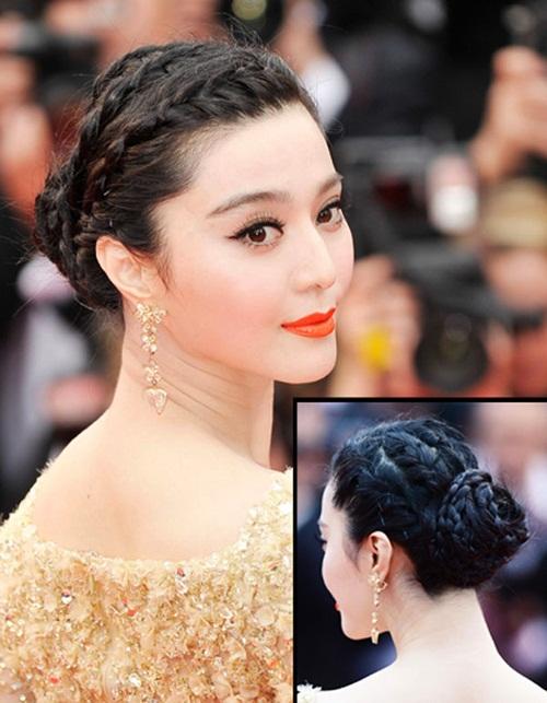 Phạm Băng Băng mê tóc búi sang trọng - hình ảnh 4