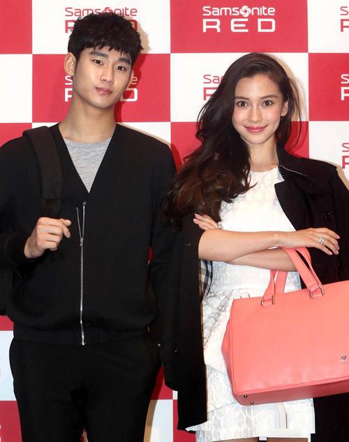 Kim Soo Hyun ga lăng với Angelababy - hình ảnh 2