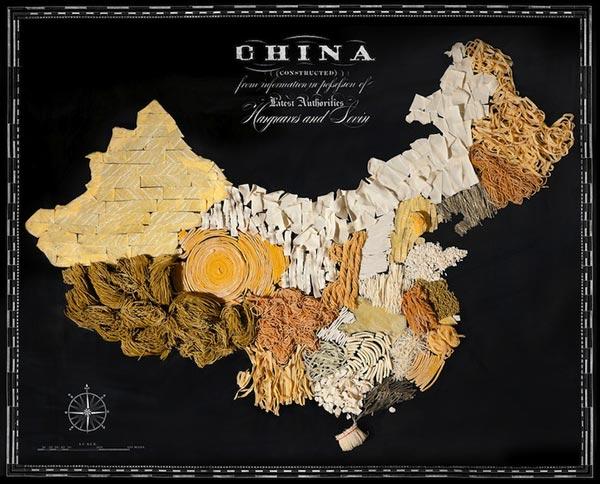 Một Trung Quốc rộng lớn bằng mỳ.