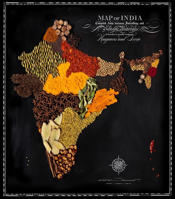 Ấn Độ cay xè với ớt, hạt tiêu và hoa hồi.