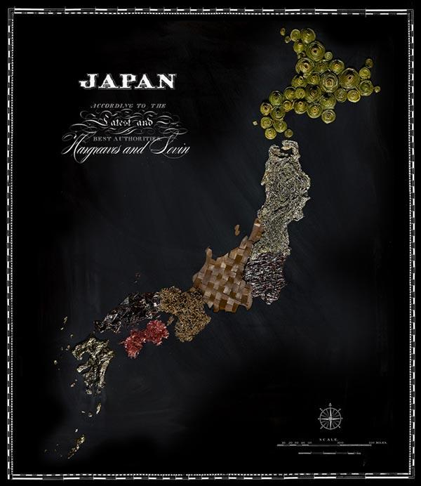Rong biển tượng trưng cho đất nước mặt trời mọc Nhật Bản.
