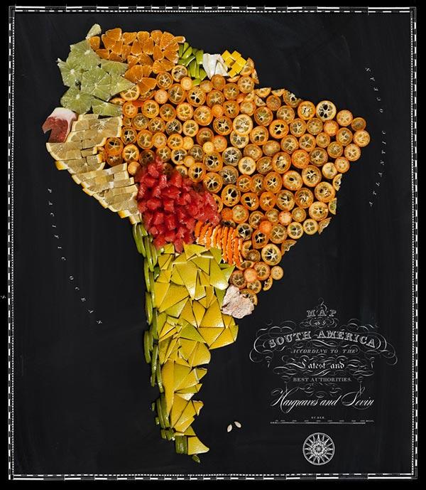 Nam Mỹ rực rỡ sắc màu của các loại quả họ nhà cam quýt.
