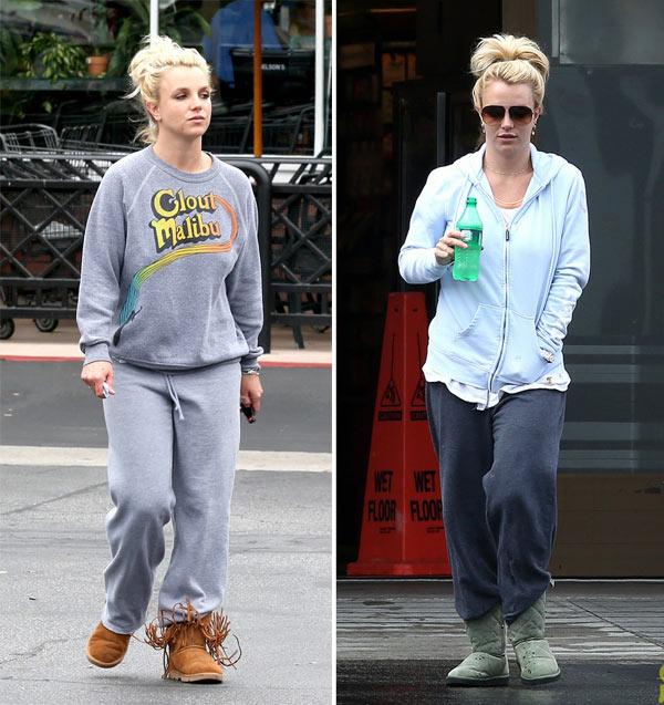 Street style lôi thôi của Britney Spears - hình ảnh 10
