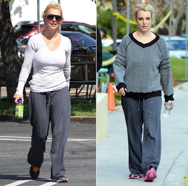 Street style lôi thôi của Britney Spears - hình ảnh 11