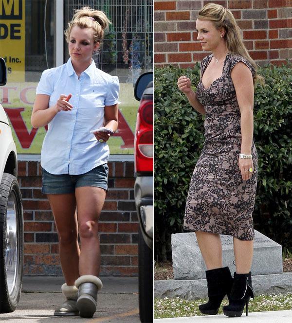 Street style lôi thôi của Britney Spears - hình ảnh 9