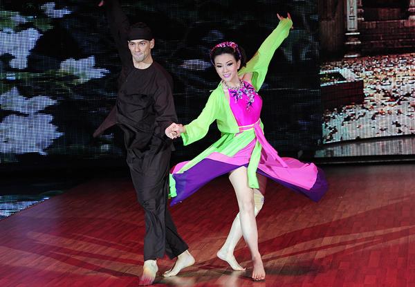 Diễm My bị loại trong bán kết 'Bước nhảy hoàn vũ' - hình ảnh 7