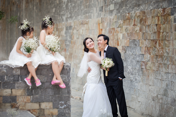 Các thiên thần đáng yêu trong ảnh cưới