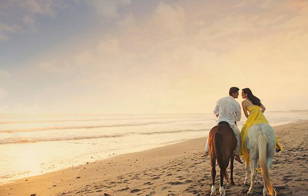 Bali nhiều màu sắc trong ảnh cưới