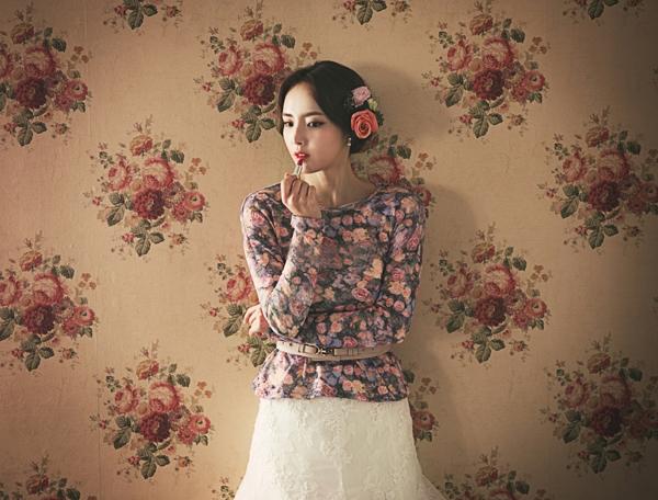 Ảnh cưới Hàn Quốc vintage đẹp cổ điển