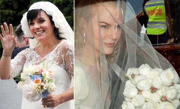Hoa cưới từ hoa hồng David Austin mềm mại