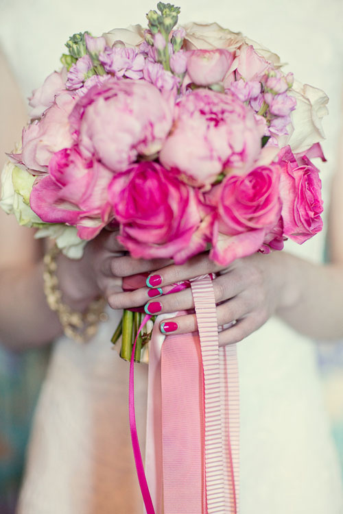 3 mẫu nail `kẹo ngọt` cho cô dâu