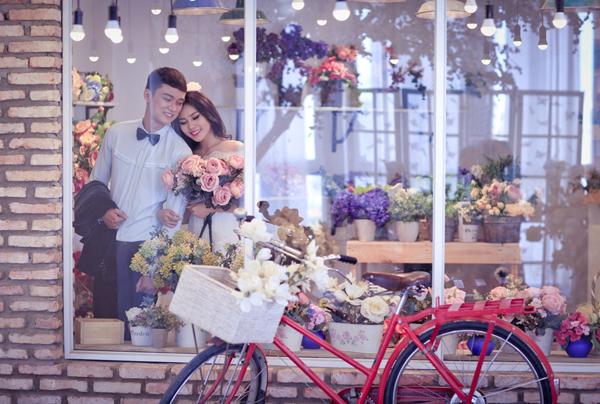 Tăng Huỳnh Như xinh đẹp trong ảnh cưới