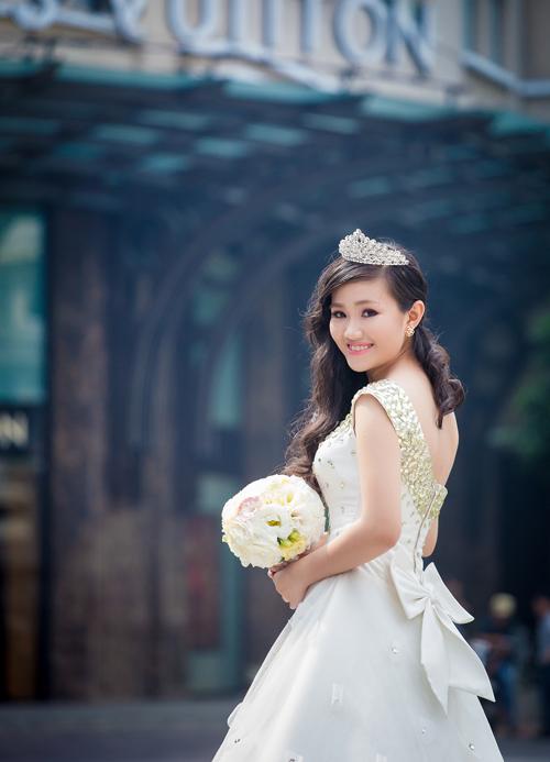 Ảnh cưới đẹp: Góc phố Sài Gòn